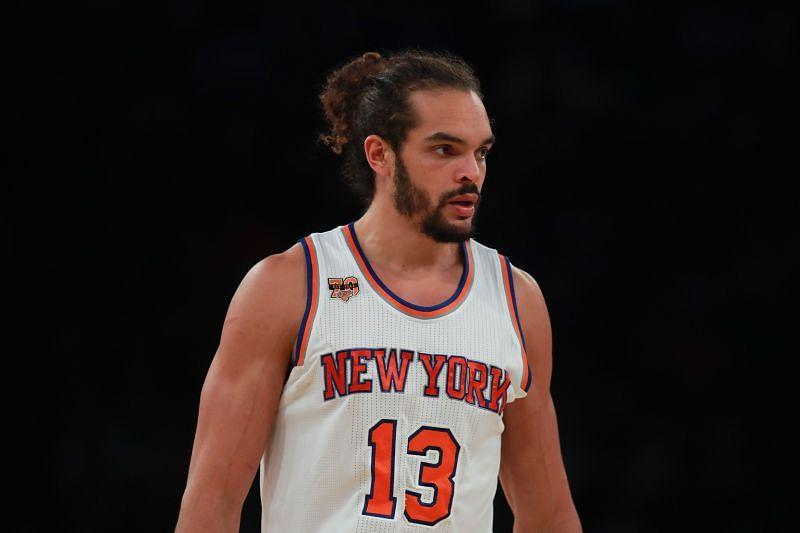 Joakim Noah with the New York Knicks.