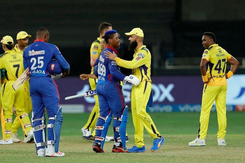 दिल्ली कैपिटल्स और चेन्नई सुपर किंग्स (Photo Credit - IPLT20)