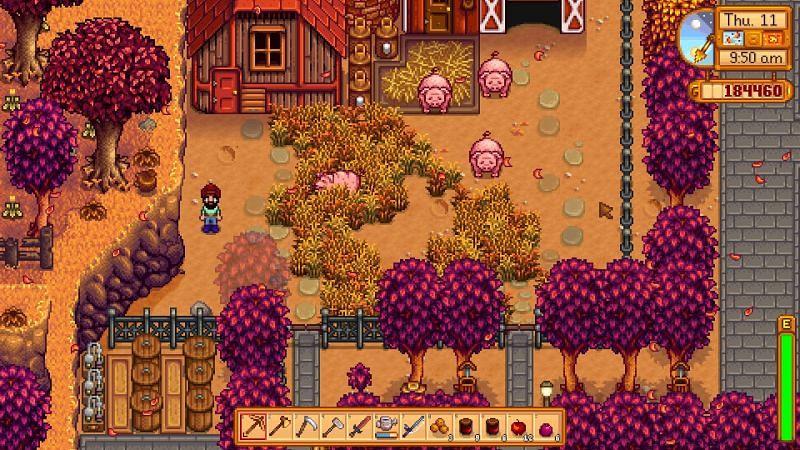 Un granero de lujo con cerdos (Imagen a través del foro de Tom's Guide)