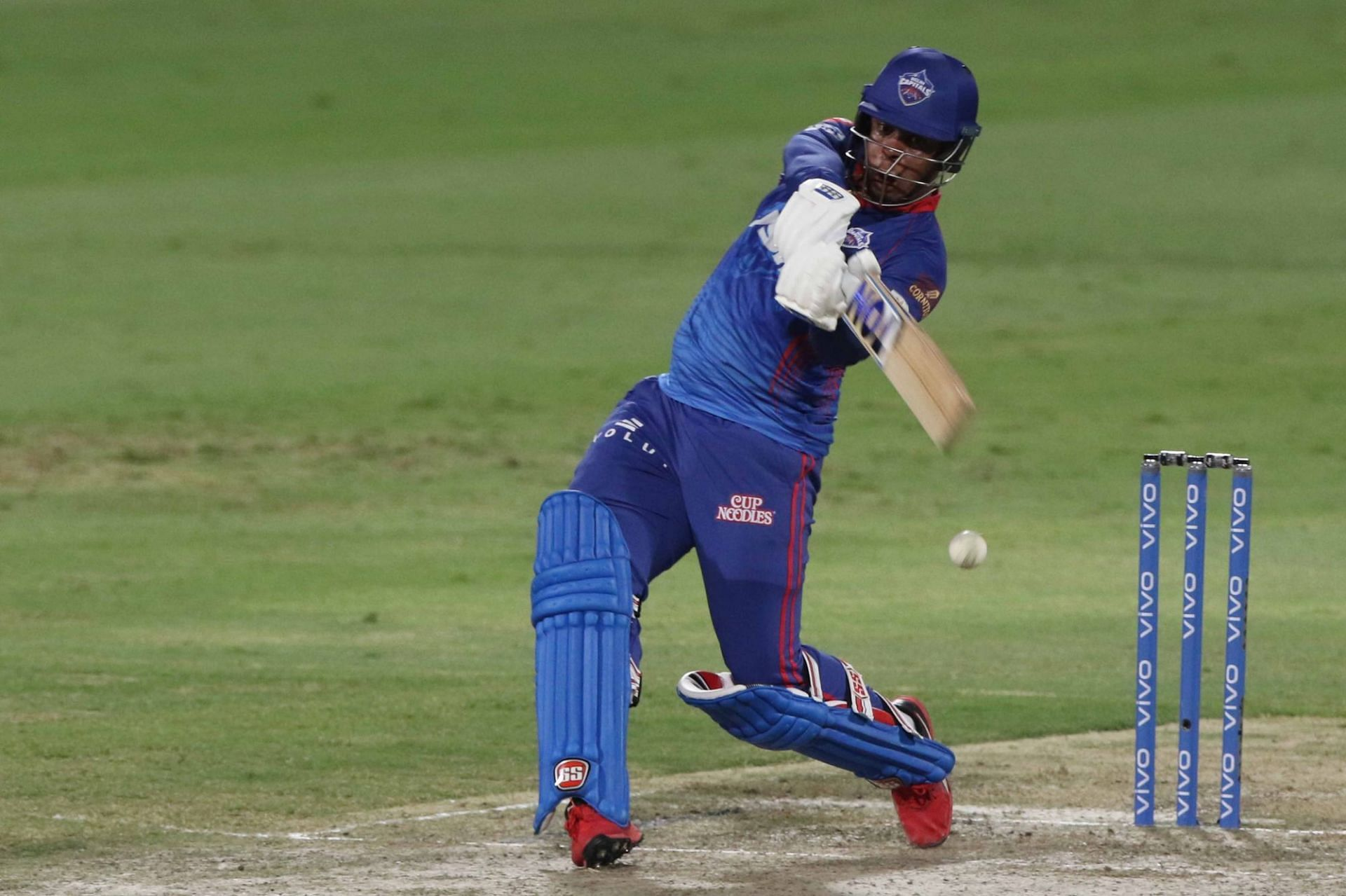 Shimron Hetmyer came in to bat too late against KKR (Pic Credits: IPLT20.com)