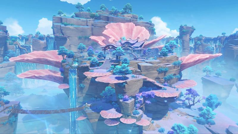 This secret achievement can be found by exploring Watatsumi Island (Image via Genshin Impact)