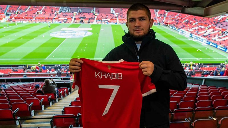 Khabib Nurmagomedov was recently at Old Trafford to watch Manchester United play in the Premier League
