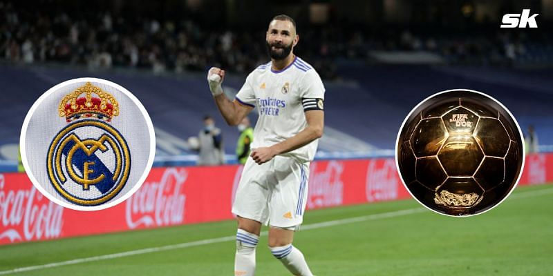 Real Madrid's Karim Benzema has been nominated for the 2021 Ballon d'Or