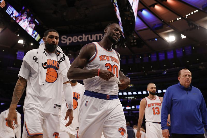 The New York Knicks are coming off a win against the Indiana Pacers