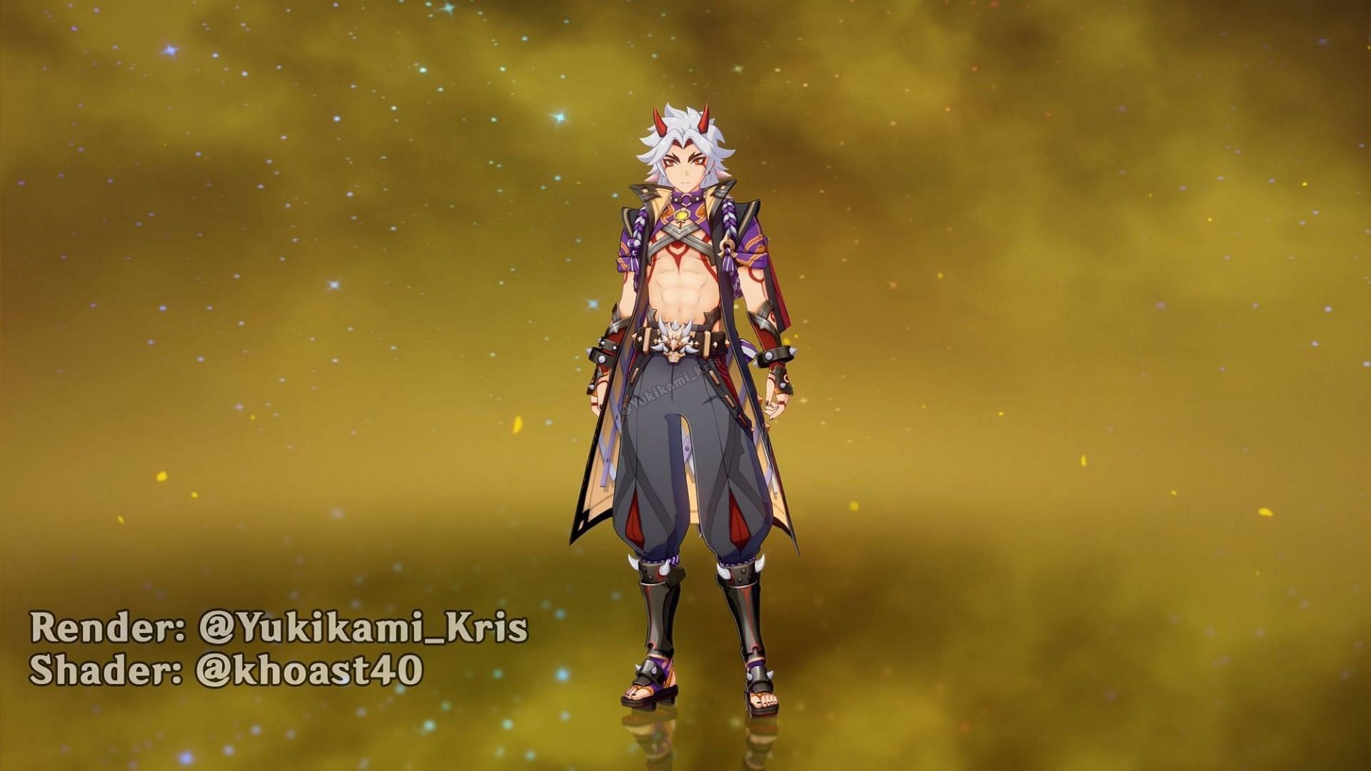 Another Itto render (Image via Yukikami_Kris)