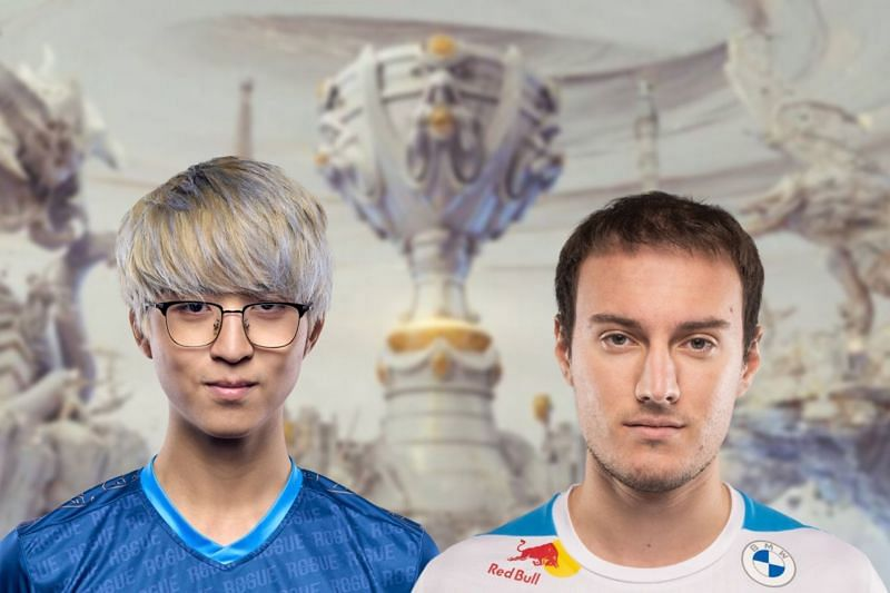 Cloud9 will need to find their form ]if they want to win against Rogue and stay in the tournament (Image via League of Legends, Edited by Sportskeeda)