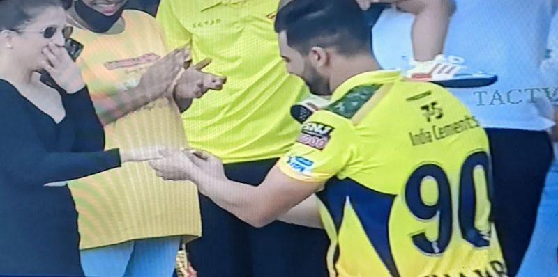 दीपक चाहर ने मैच के बाद यह हैरानी वाला काम किया