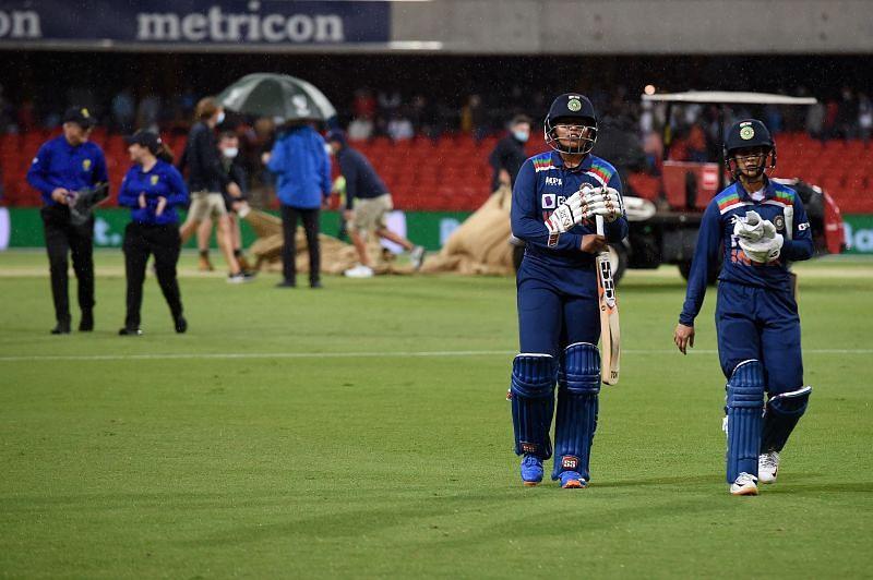 Australia v India: T20 Series - Game 1 (Rains stops play)