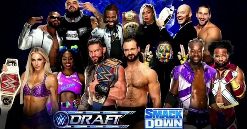 How did the blue brand fare in the 2021 WWE Draft?