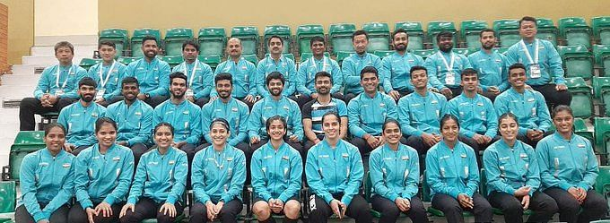 The Indian women's team beat Spain 3-2 to start their Uber Cup campaign on a rousing note