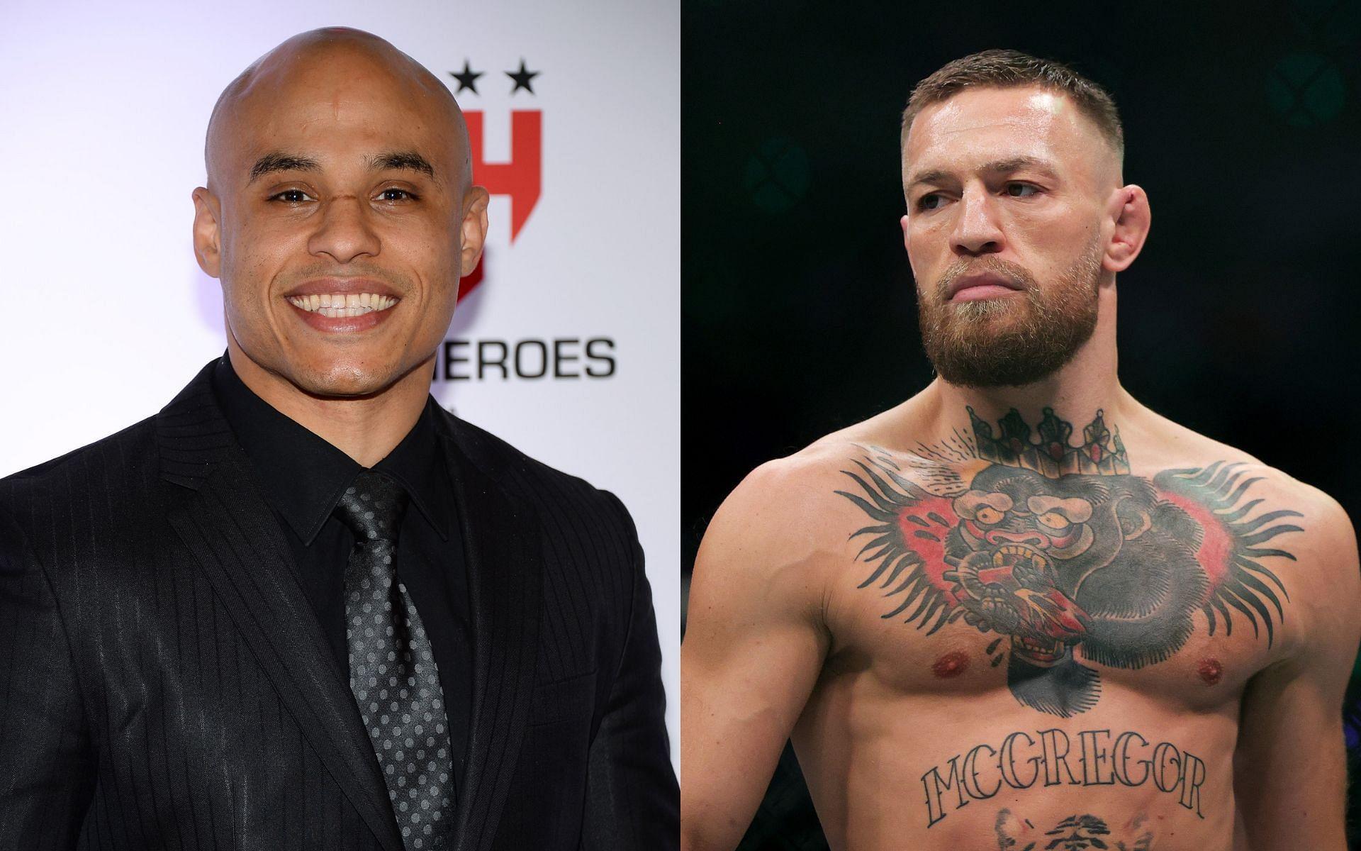 MMA manager Ali Abdelaziz (left) and UFC lightweight superstar Conor McGregor (right)