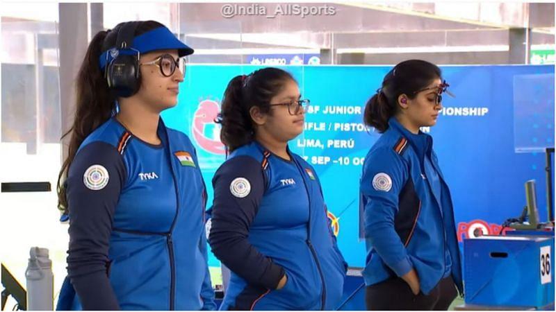 ISSF Junior World Championship: Indian women's 25m Pistol team wins gold