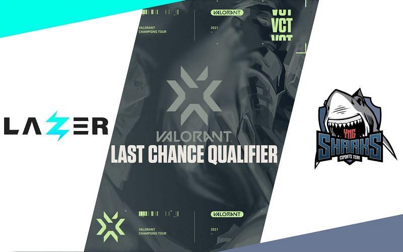 Sharks Esports vs Lazer in Valorant Champions Tour EMEA Last Chance Qualifier (Image by Sportskeeda)