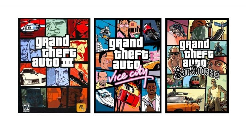 The GTA trilogy will be available later this year (Image via Rockstar Games)