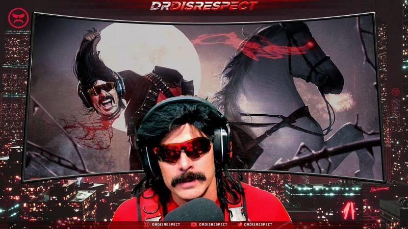 El Dr. Disrespect también compartió sus dos centavos en la filtración de Twitch (Imagen cortesía del Dr. DisreEnter