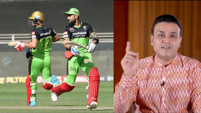 Like many cricket fans, Virender Sehwag wanted to see the duo of Virat Kohli and AB de Villiers bat together. (Image Source: IPLT20.com/Instagram)