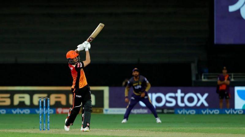 अब्दुल समद के बल्ले से तीन शानदार छक्के आए (फोटो - IPL)