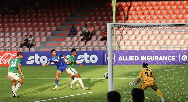 Indian players were wasteful in front of goal