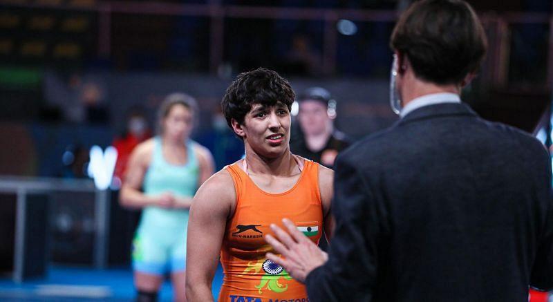 Anshu Malik to compete in 57kg. (©UWW)