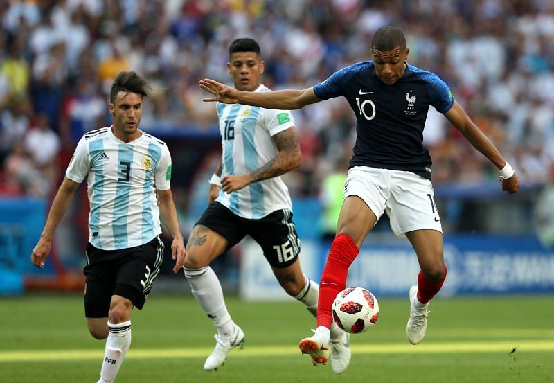 Teenager Mbappe single-handedly ripped Argentina to shreds in FIFA World Cup 2018