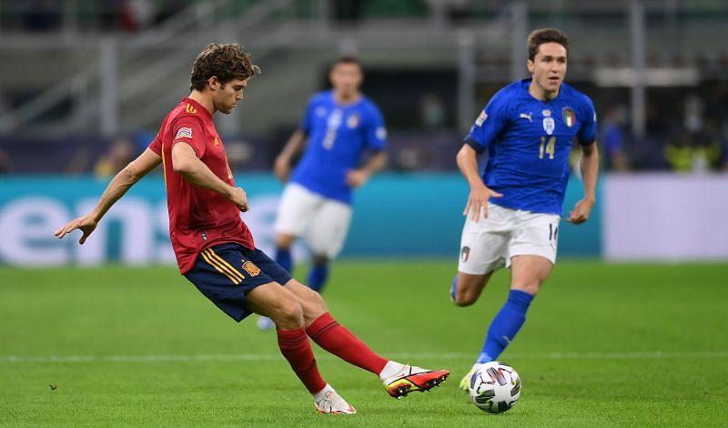 इटली बनाम स्पेन –  UEFA नेशंस लीग 2021 सेमी-फ़ाइनल