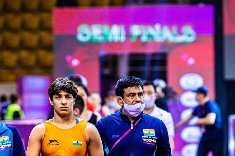 Anshu Malik will compete in 57kg. (©UWW)