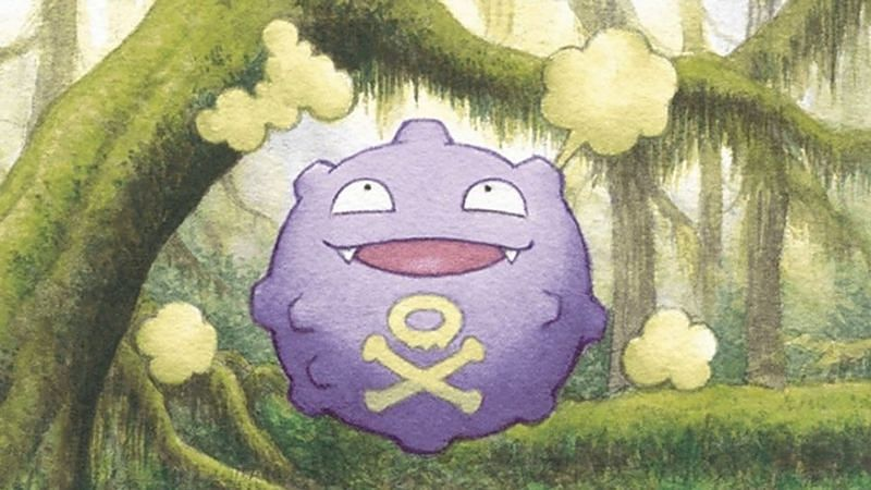 Koffing has been in Pokemon GO a long time, but it only possesses two weaknesses (Image via The Pokemon Company).