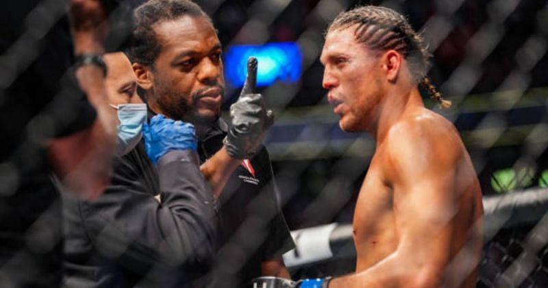 UFC 266: Herb Dean on Brian Ortega