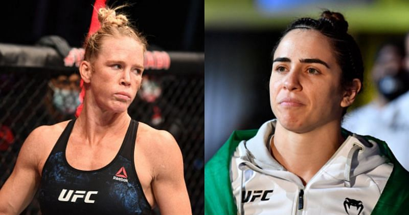 Holly Holm (left); Norma Dumont (right)