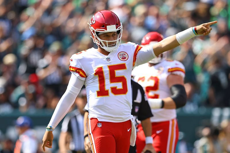 Patrick Mahomes loves ketchup as shown in the animated video on Monday night