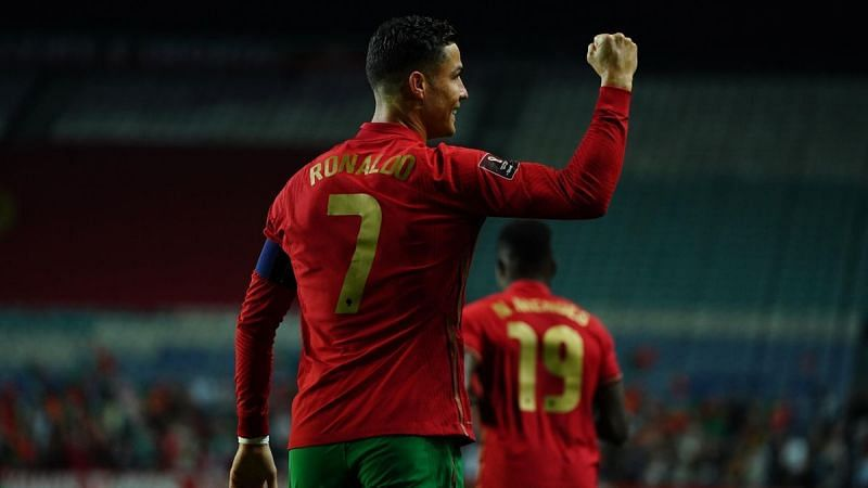 Ronaldo scored his tenth international hat-trick as Portugal cruised to a big win.