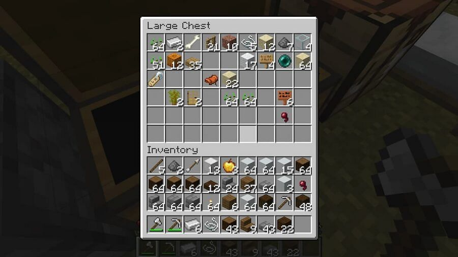 Clear command is useful for removing unwanted items from inventory. Image via Minecraft