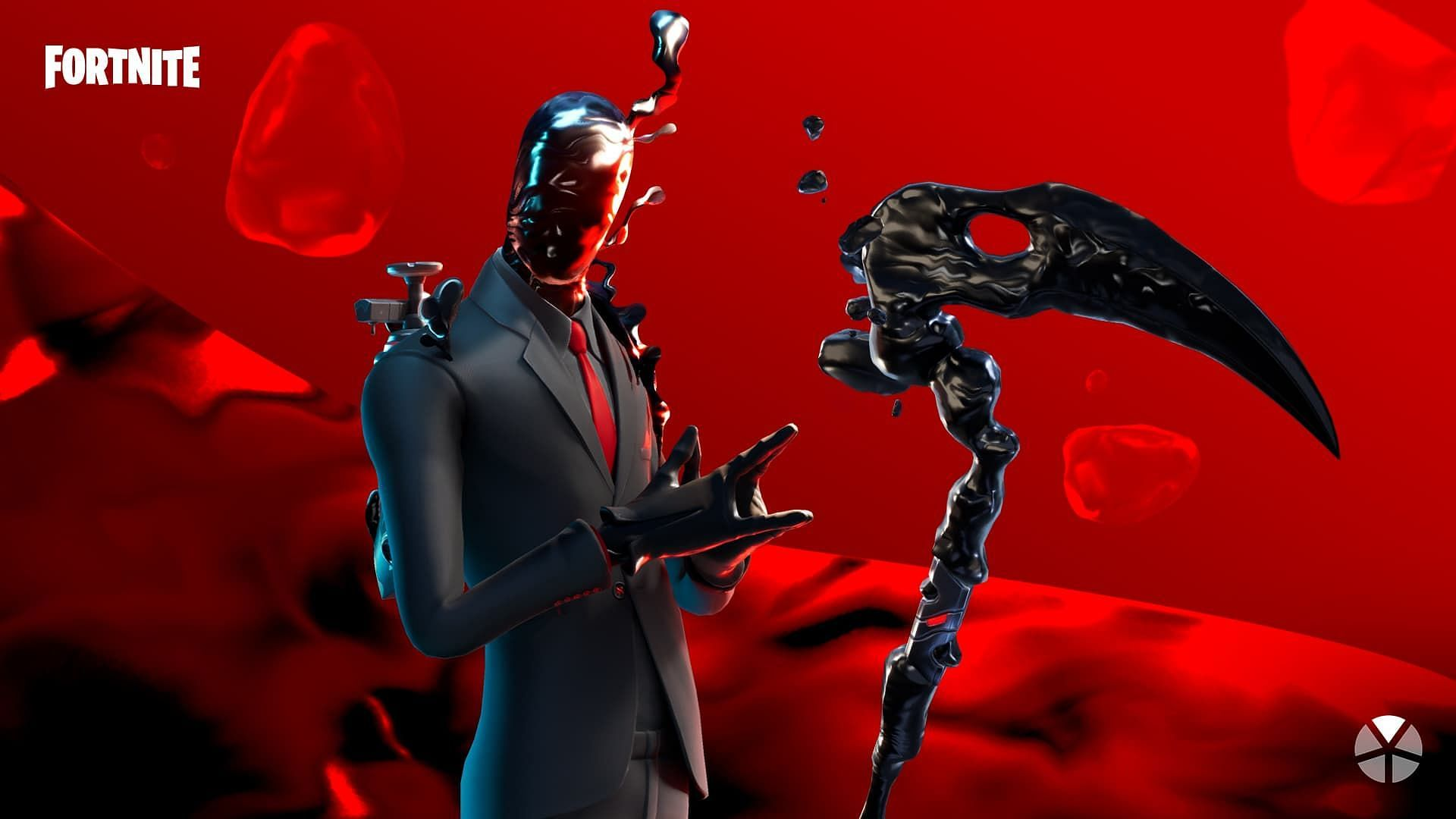 Chaos Agent's alternate style in Fortnite (Image via Epic Games)