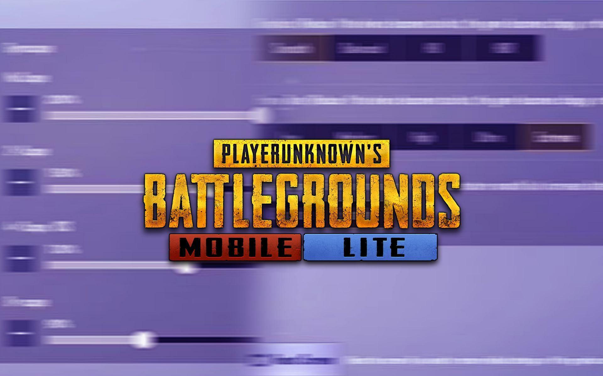 PUBG Mobile Lite sensitivity and graphics settings for smooth gameplay (Image via Krafton)