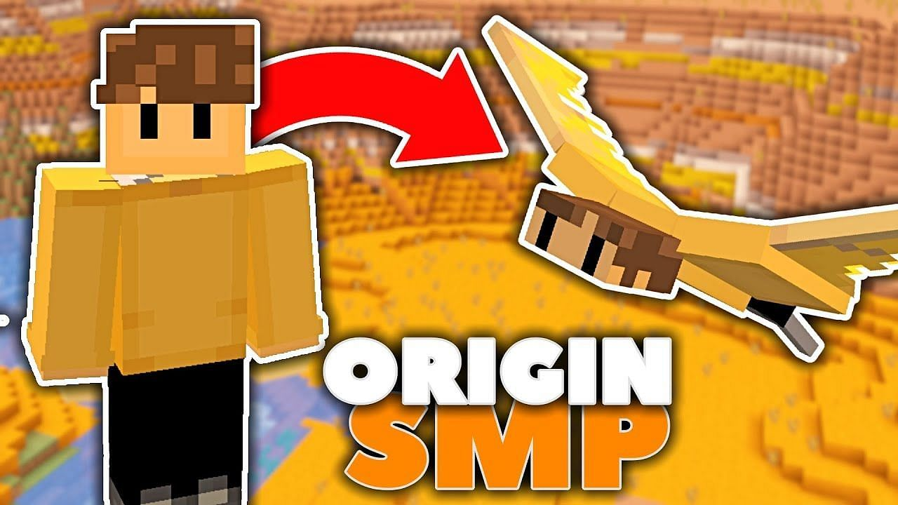 The Origins SMP is a multiplayer server full of players possessing their own unique in-game ability (Image via ShaDope on YouTube)