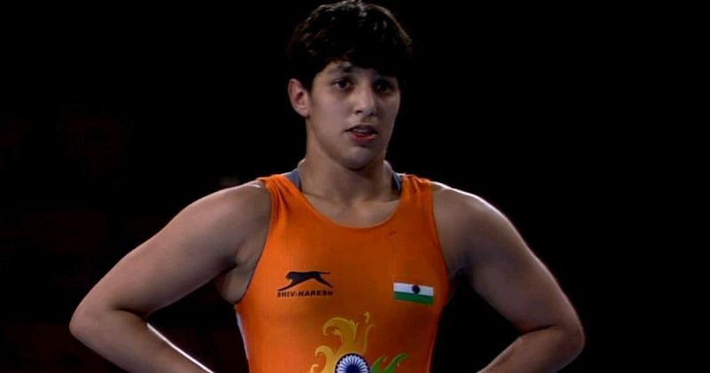 Anshu Malik is the only wrestler from India's Olympic squad at the Worlds (©Screengrab/WrestlingTV)