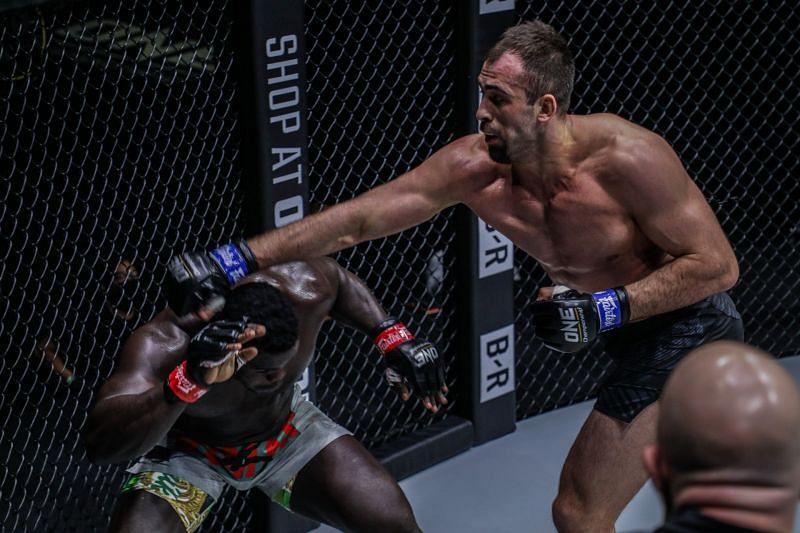 Kirill Grishenko makes thunderous debut in ONE Championship