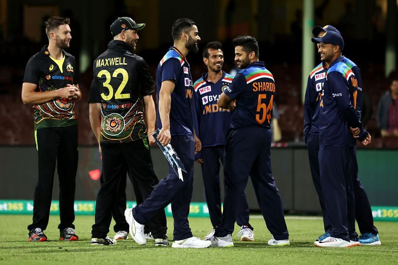 India defeated Australia in a T20I series last year Down Under
