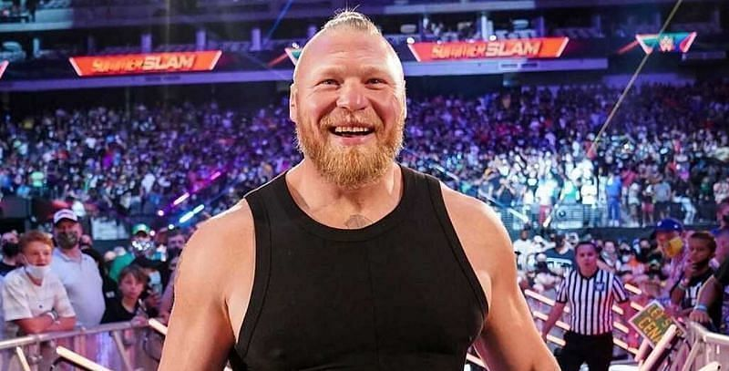WWE दिग्गज ब्रॉक लैसनर को फेमस सुपरस्टार ने दी चुनौती