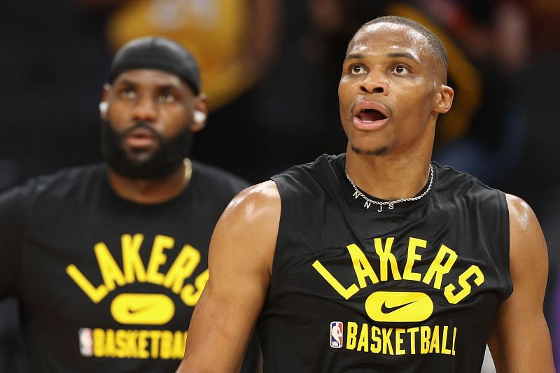 Russell Westbrook joined the LA Lakers in the 2021 offseason
