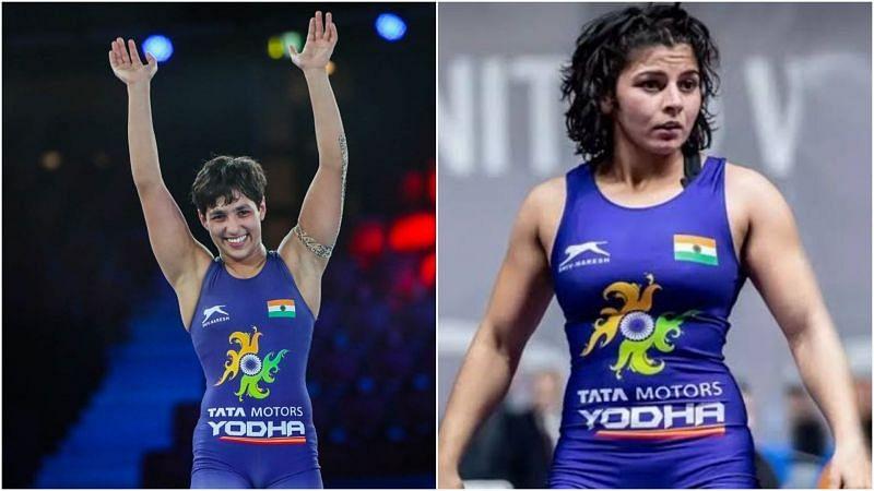 Anshu Malik wins silver, Sarita bags bronze: