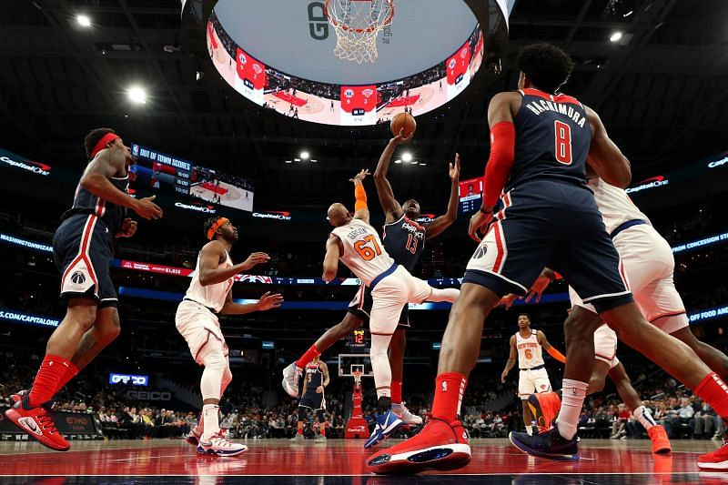 The Washington Wizards will host the New York Knicks in a preseason game on Saturday
