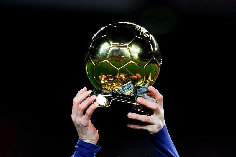 Midfielders have rarely won the Ballon d'Or award.