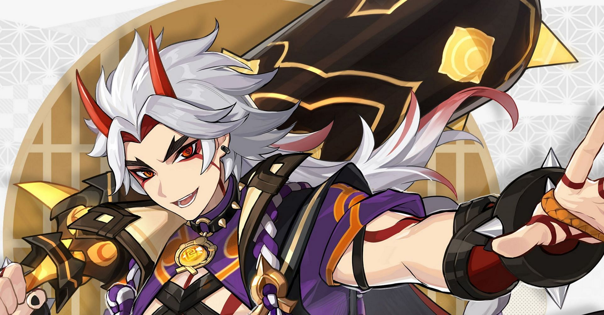 Itto's official art (Image via Genshin Impact)