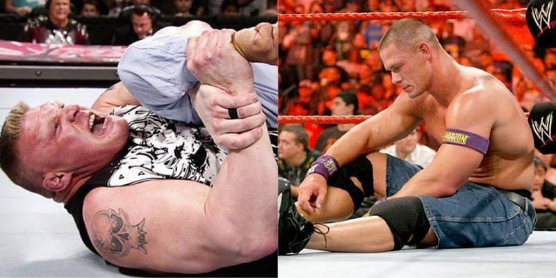 WWE में अक्सर सुपरस्टार्स गुस्से में आकर अपने दुश्मनों को बुरी तरह चोटिल कर देते हैं