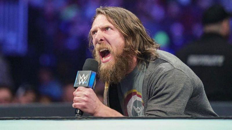 AEW star Bryan Danielson during his WWE days