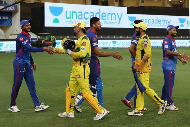 दिल्ली कैपिटल्स vs चेन्नई सुपर किंग्स (Photo Credit - IPLT20)