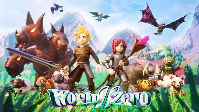 Fight monsters, raise pets, and collect loot in World Zero (Image via Roblox)