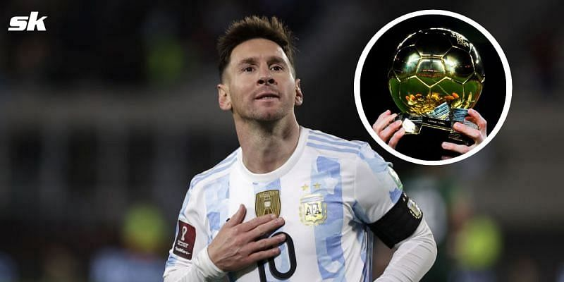 Messi has revealed who he would back in the race for Ballon d'Or