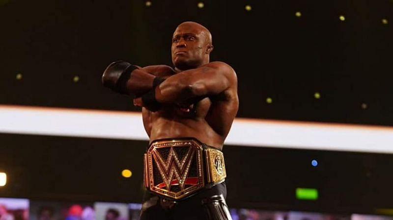 Bobby Lashley is a former WWE champion